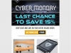 Cyber Monday Email Marketing