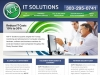 Website design for the ACP IT Solutions website.