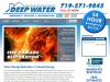 Kropmark used the WordPress CMS to create this Deep Water web site.