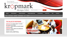 Kropmark Design offers online marketing and seo services.