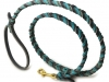 Teal Gray Braid Product Photography